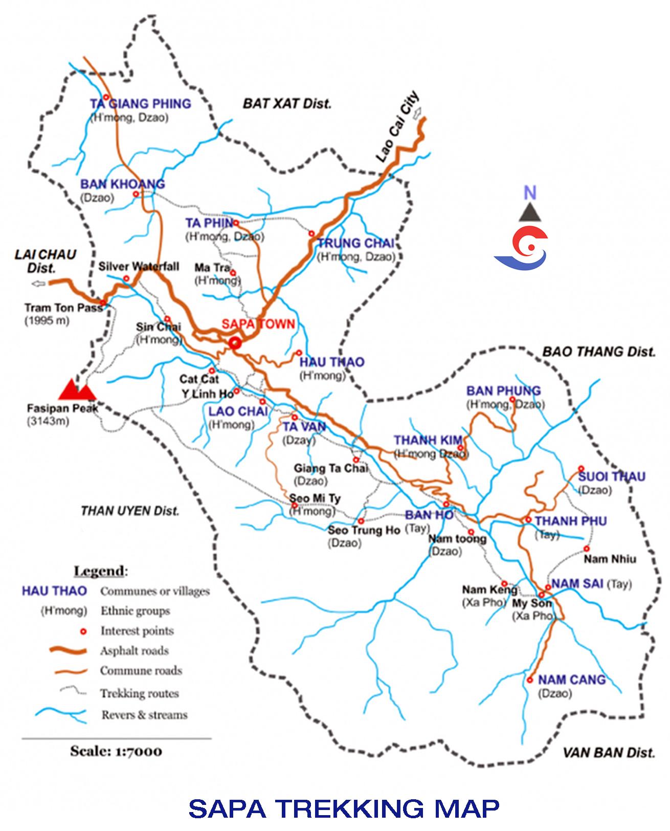 Sapa-Trekking-Map-Sapa-Tours-From-Hanoi